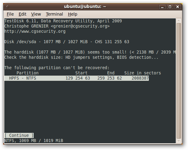 Recuperar datos como un experto con Ubuntu