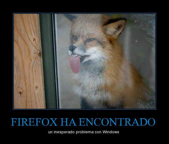 HUMOR & JOKES CHANNEL - Página 3 Firefox-problema