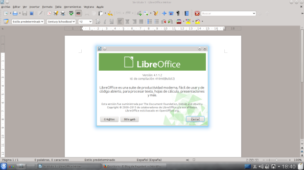 LibreOffice 4.1.x