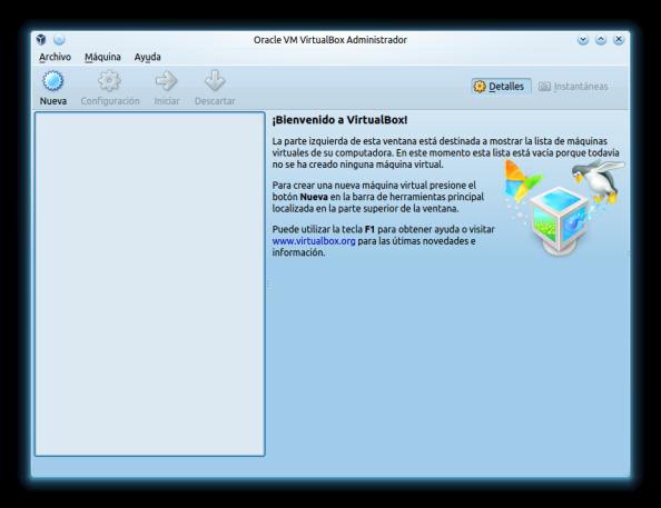 VirtualboxAdministradorvacio