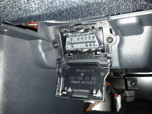 OBD2 conector en Mercedes